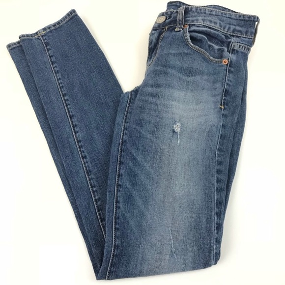 American Eagle Outfitters Denim - American Eagle Skinny Jeans Distressed 2 Stretch